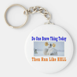 DO ONE GREAT THING TODAY BASIC ROUND BUTTON KEYCHAIN