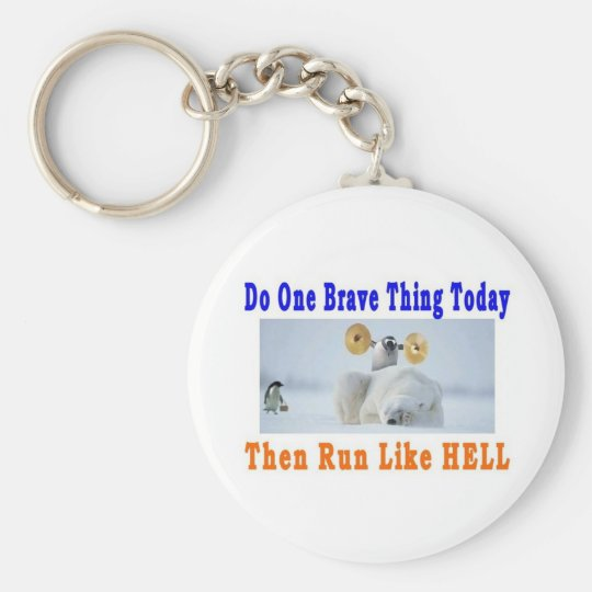 DO ONE GREAT THING TODAY KEYCHAIN