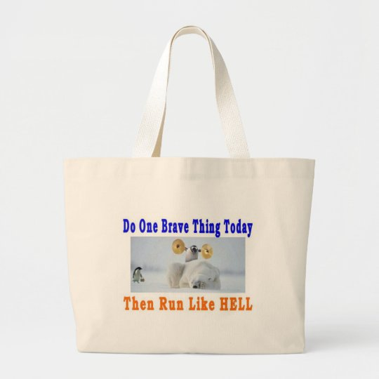 DO ONE GREAT THING TODAY LARGE TOTE BAG