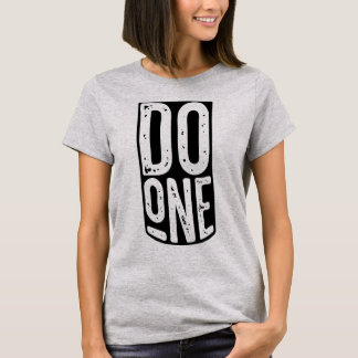 """Do One"" Mancunian Manchester Dialect Tee"