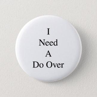 Do Over...1 Button