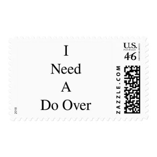 Do Over...1 Postage