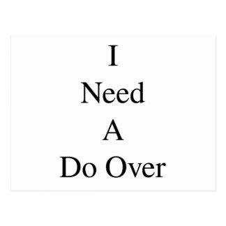 Do Over...1 Postcard