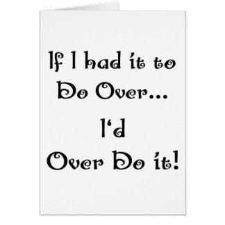 Do Over...2 Card