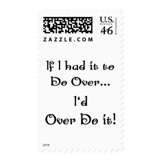 Do Over...2 Postage Stamps