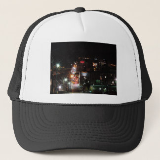 DO\owntown Morgantown at Night Trucker Hat