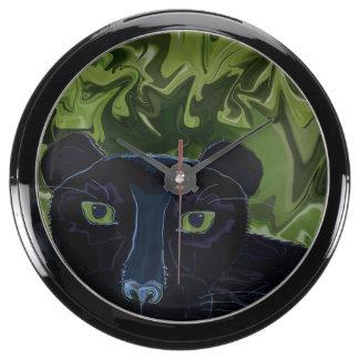 Do Panthers Fly? Aqua Clock