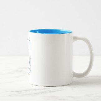 Do Si Do Mug in Blue & Gold
