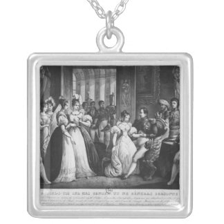 Do sit down on my knees, it will bother no silver plated necklace