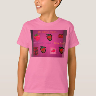 Do Some Math Berry Cool T-Shirt