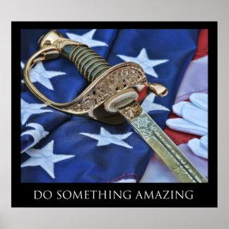 Do Something Amazing Poster