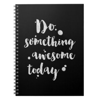 Do Something Awesome Today - Inspirational Journal