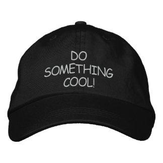 DO SOMETHING COOL CAP BASEBALL CAP