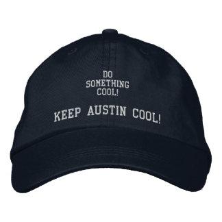 DO SOMETHING COOL! Keep Austin Cool cap