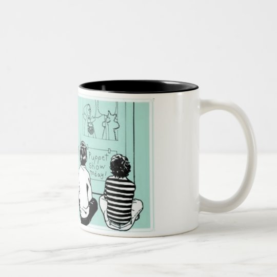 Do Something Stupid Two-Tone Coffee Mug