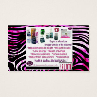 Do Something Today Plexus Business Cards