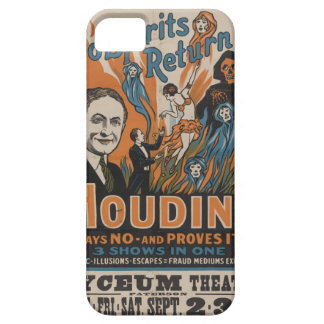 Do Spirits Return? Houdini Says No And Proves It iPhone SE/5/5s Case