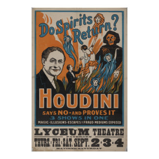 Do Spirits Return? Houdini Says No And Proves It Poster