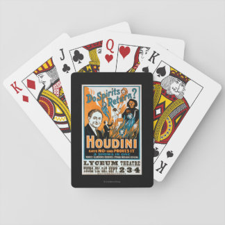 Do Spirits Return? Houdini Says NO - Proves It Playing Cards