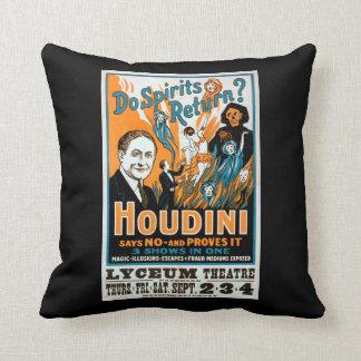 Do Spirits Return? Houdini Says NO - Proves It Throw Pillow