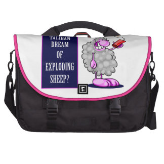 Do Taliban Dream of Exploding Sheep Laptop Bags
