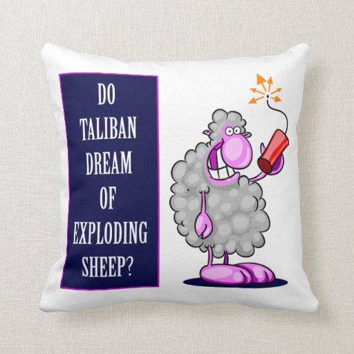 Do Taliban Dream of Exploding Sheep? Pillow