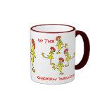 DO THE CHICKEN DANCE!  by SHARON SHARPE Coffee Mug