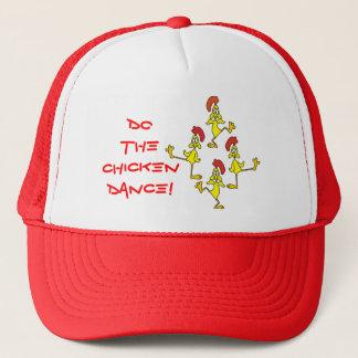 DO THE CHICKEN DANCE! by SHARON SHARPE Trucker Hat