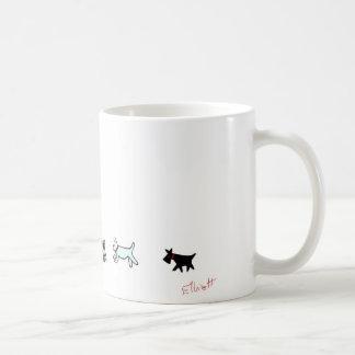 Do the Doggie Walk Coffee Mug