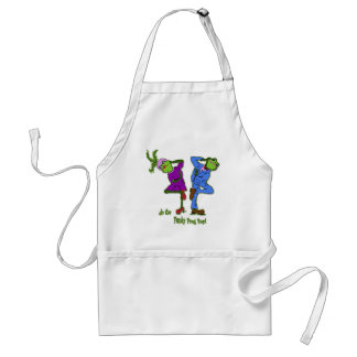 do the Funky Frog Bop! Adult Apron