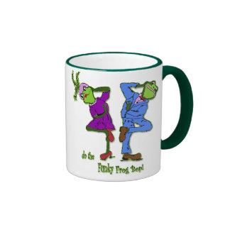 do the Funky Frog Bop! Ringer Mug
