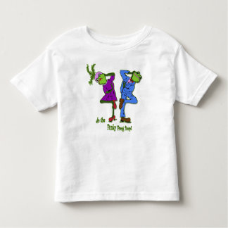 do the Funky Frog Bop! Toddler T-shirt