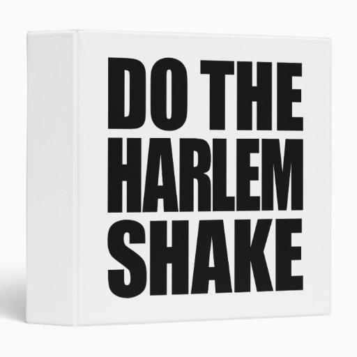 Do The Harlem Shake Binders