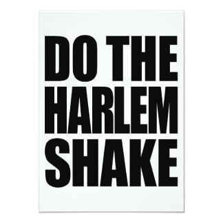 Do The Harlem Shake Card