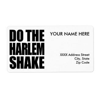 Do The Harlem Shake Label