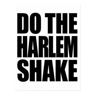 Do The Harlem Shake Postcard