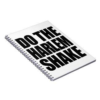 Do The Harlem Shake Spiral Notebook