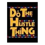 Do the Hustle Thing Postcards