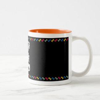 Do The Hype Thing Two-Tone Coffee Mug