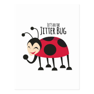 Do the Jitter Bug Postcard