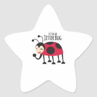 Do the Jitter Bug Star Sticker