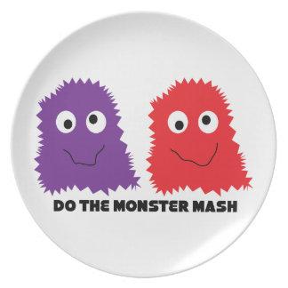 Do The Monster Mash Plate