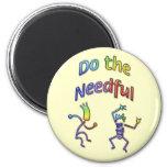 Do the Needful 8 Fridge Magnets