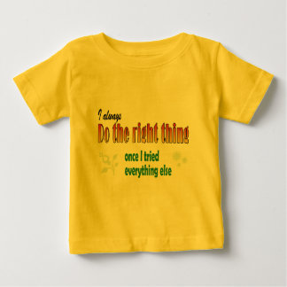 Do the right thing analysis baby T-Shirt