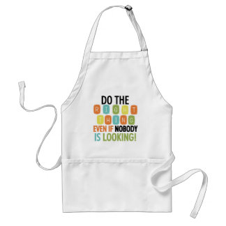 Do The Right Thing Adult Apron