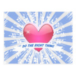 Do the Right Thing Postcard