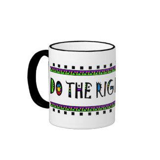 DO THE RIGHT THING RINGER MUG