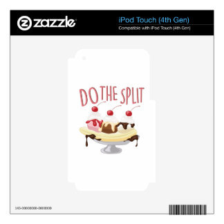 Do The Split Skin For iPod Touch 4G