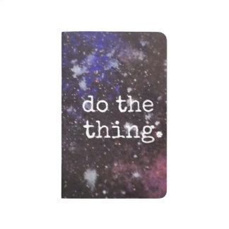 do the thing - space art checklist planner journal