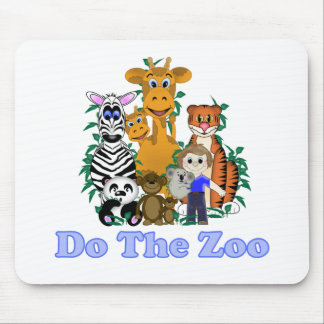 Do The Zoo Mouse Pads